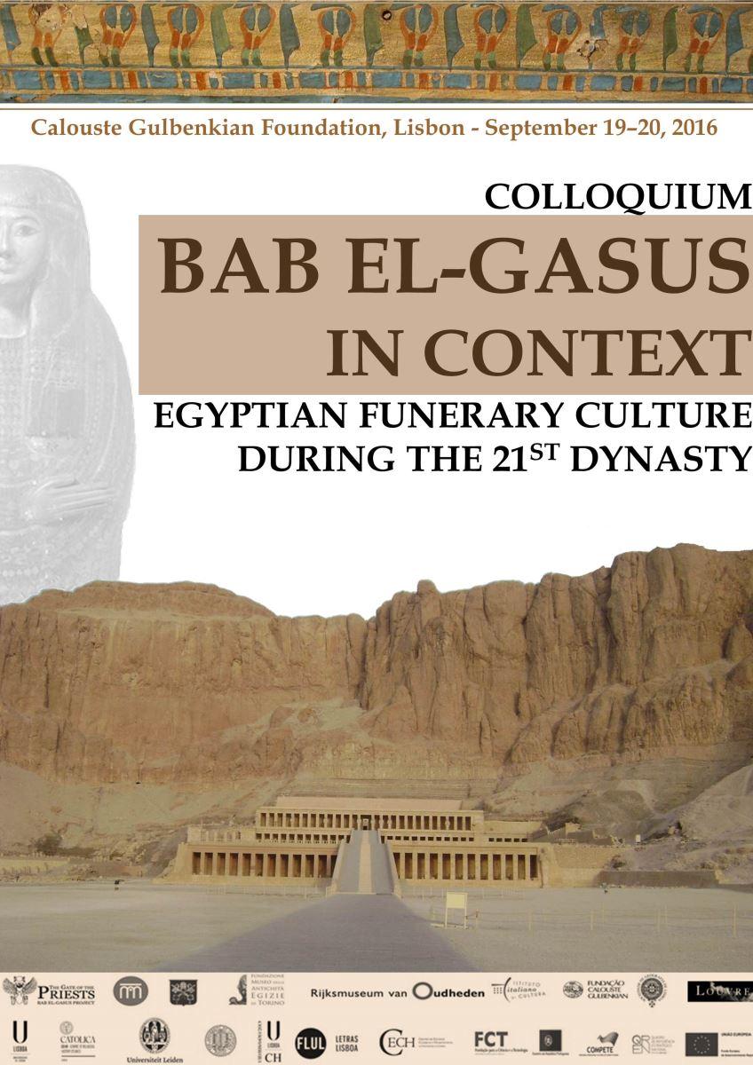 Colóquio Internacional de Egiptologia - Bab El-Gassus in context